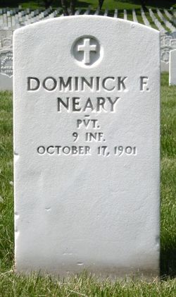 Pvt Dominick F. Neary