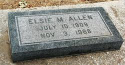 Elsie Marie Allen