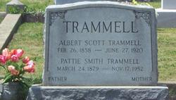 "Martha Ellen ""Pattie"" <I>Smith</I> Trammell"