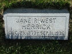 Jane Richards <I>West</I> Herrick