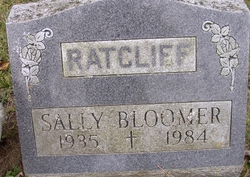 Sally <I>Ratcliff</I> Bloomer