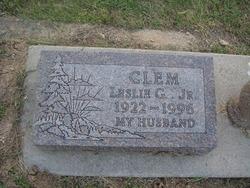 Leslie Garvin Clem, Jr