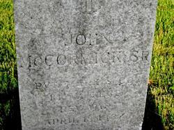 John Wesley McCormick, Sr
