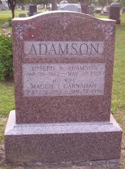 Maggie I. <I>Carnahan</I> Adamson