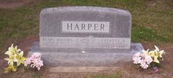 Pearl <I>Brooks</I> Harper