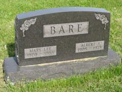 Mary L. <I>Lee</I> Bare