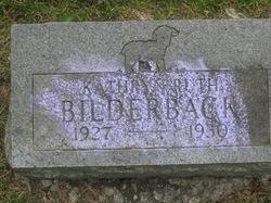 Kathryn Ruth Bilderback