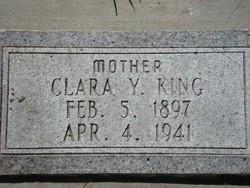Clara Dorthy <I>Youngberg</I> King