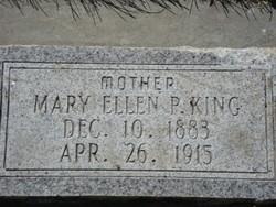 Mary Ellen <I>Patterson</I> King