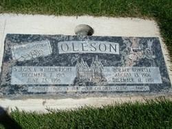Virginia Helen <I>Wheelwright</I> Oleson