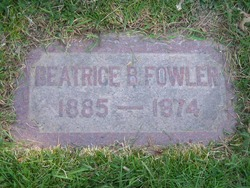 Beatrice <I>Buckle</I> Fowler