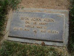 Irvin John Albin