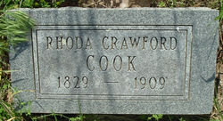Rhoda Aletha <I>Crawford</I> Cook