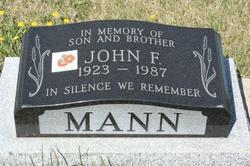 John Frederick Mann