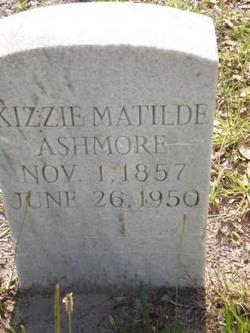 Kizzie Matilde <I>Holmes Jones</I> Ashmore