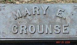 Mary E. <I>Griffiths</I> Crounse