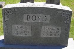 Emma H <I>Miller</I> Boyd