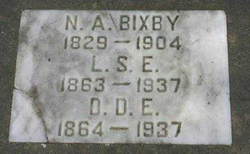 Nelson Alvin Bixby