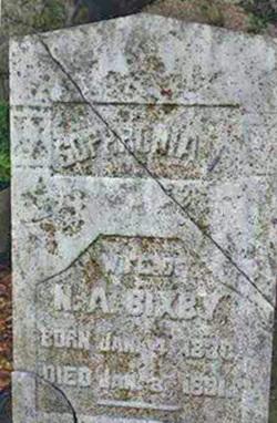 Sophronia I. <I>Russell</I> Bixby