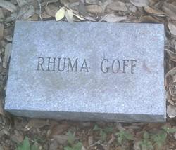 Ruhama Goff