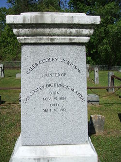 Caleb Cooley Dickinson (1804-1882) - Find A Grave Memorial