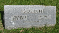 Caroline Frances <I>Thomas</I> Gordin