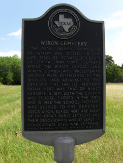 Wixon Cemetery