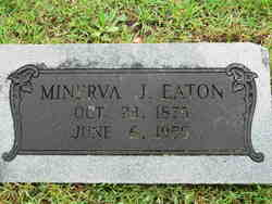 """Minerva Jane """"Nervie"""" <I>Ping</I> Eaton"""