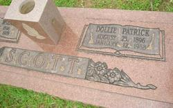 Dollie <I>Patrick</I> Scott