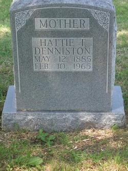 Hattie Teague <I>McBryde</I> Denniston