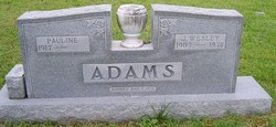 Pauline <I>Hutson</I> Adams