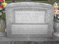 Martha J Boss