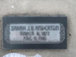 Sarah Jane <I>Barney</I> Anderton