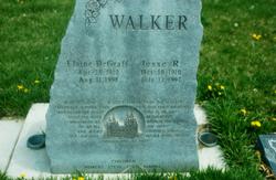 Elaine <I>DeGraff</I> Walker