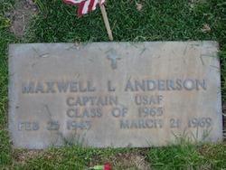 Capt Maxwell L. Anderson