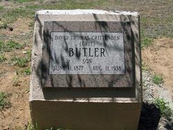 David Thomas Crittenden Butler