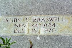Ruby Lois <I>Singletary</I> Braswell