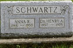 Anna Rebecca <I>Strang</I> Schwartz