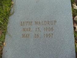 Lutie Waldrup