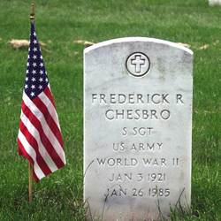 Sgt Frederick R Chesbro