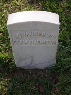 John Quitman Vanderburg, Sr