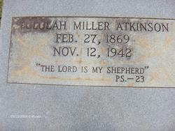 Tululah <I>Miller</I> Atkinson