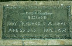 Roy Frederick Albean