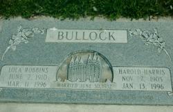 Lola <I>Robbins</I> Bullock