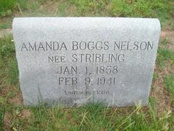 Amanda <I>Stribling</I> Nelson