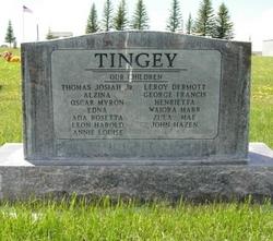 Annie <I>Cox</I> Tingey