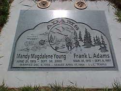 Mandy Magdalene <I>Young</I> Adams