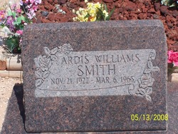 Ardis <I>Williams</I> Smith