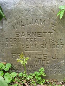 Frances J. <I>Wells</I> Barnett
