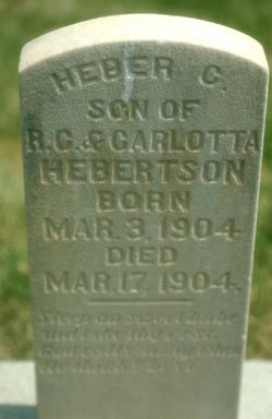 Heber C. Hebertson